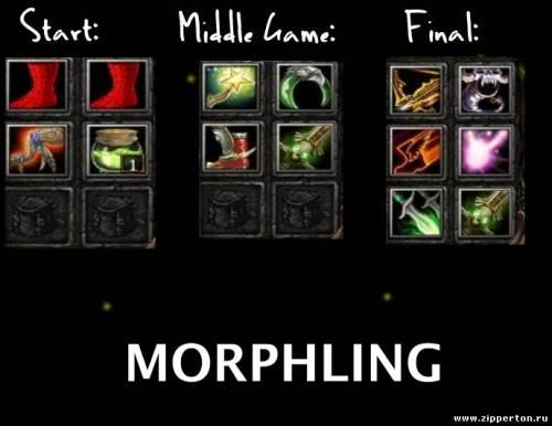 Гайд по Морфу | Morphling