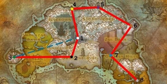 Основы прохождения крепости ДракТарон, Утград и Нексуса