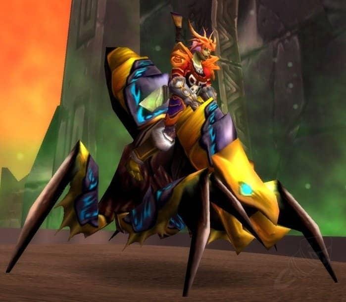 Топ 30 наиболее популярных и доступных маунтов в игре World of Warcraft